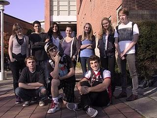The multiple winners from Ballard's Video Production Program who took home awards from the Young People's Film and Video Festival in Portland recently.