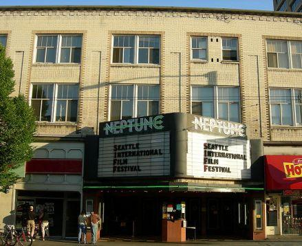 The Neptune Theater in Seattle's University District, on 45th NE. Seattle Theatre Group is leasing the site and planning renovations.