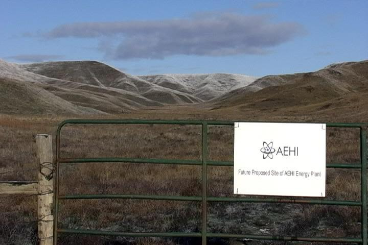 Proposed future site of AEHI's nuclear reactor