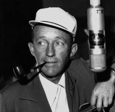 Tacoma-born Bing Crosby was raised in Spokane. Crosby was the state's most famous export for decades. He's pictured here in a 1958 recording session.