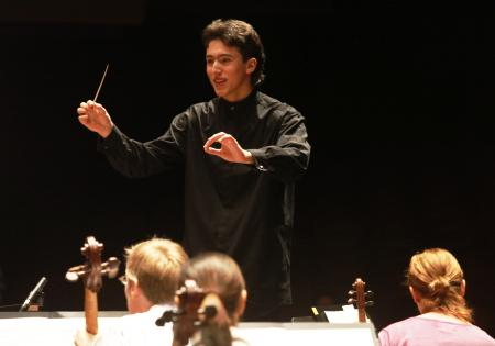 Alexander Prior is the youngest conductor ever hired by the Seattle Symphony. The 17-year-old conducted a rehearsal of Mahler Symphony No. 4 in February. Pope is one of the KPLU News' favorite stories of 2010.