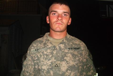Spc. Dustin Knapp returned from Afghanistan, but died on a Wisconsin road under mysterious circumstances. His is another tragic death of a 5th Stryker Brigade soldier following the return home.