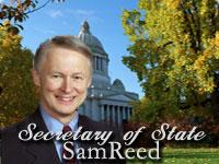 Secretary of State Sam Reed