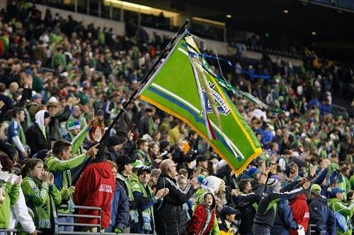Seattle Sounders fans at a recent match. Many waited anxiously for news of the World Cup bids for 2018 and 2022. The U.S. was not chosen by FIFA directors.
