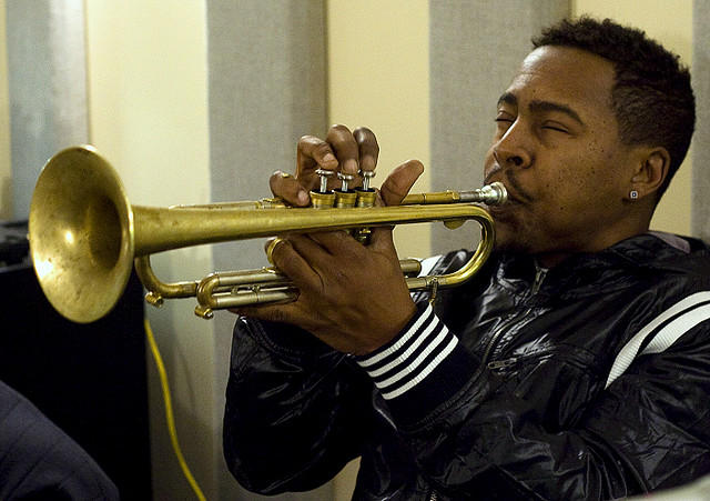 Roy Hargrove in the KPLU Studio