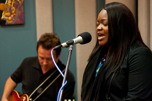 Blues singer, Shemekia Copeland, along with her guitarist Arthur Neilson, stopped by the KPLU Seattle studios for an intimate live performance on August 19, 2010.