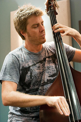 The Kyle Eastwood Quintet performs live at KPLU's Seattle Studios on September 14, 2010.