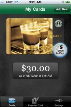 Customers across the country will soon be able to use smartphones to buy coffee and snacks at Starbucks.