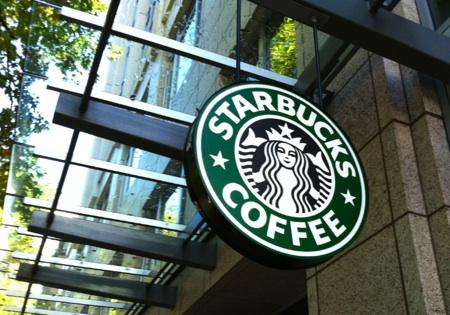 Another strong financial report is boosting Starbuck's morale, but not its stock price.