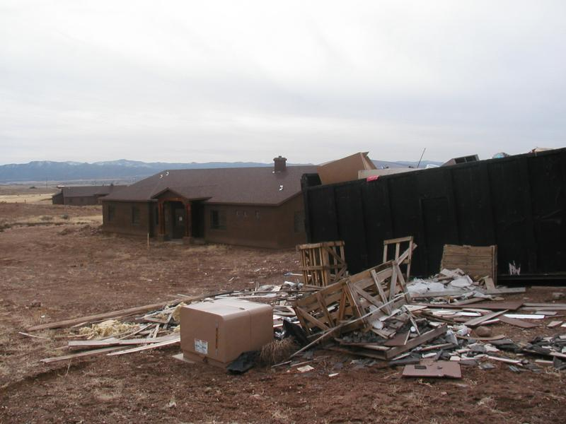 An abandoned home in Prescott, Arizona, one of the areas with a high foreclosure rate, according to Richard Hagar.