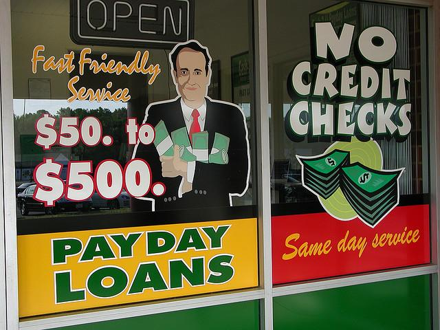 "Under a law that went into effect last year, brick-and-mortar payday lenders are highly regulated in Washington state.  There's concern the law may be driving low-income borrowers to the ""wild west"" of the Internet, where fees are even higher."