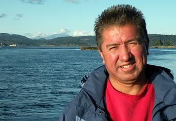 Darren Blaney is a former chief of the Homalco First Nation, the northern-most of the Salish Sea tribes, near Campbell River, B.C.