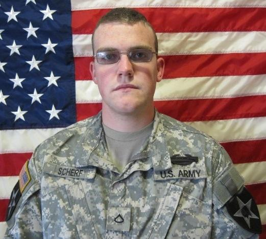 Cpl. Roger Scherf Jr. was the sole survivor of a bomb blast in Afghanistan. He died in March in a car accident.