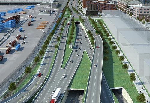 Alaskan Way/SR 99 tunnel project concept.