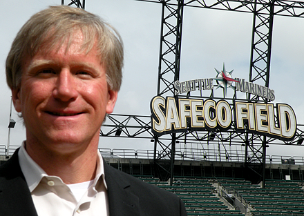 Scott Jenkins heads operations at  Safeco Field. Last year, the Seattle Mariners recycled 70 percent of the waste generated at their home games.
