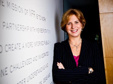 NPR CEO Vivian Schiller resigned Wednesday, a move accepted by the board of directors.