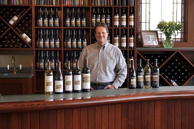 Marty Clubb is the owner and managing wine maker of L'Ecole.