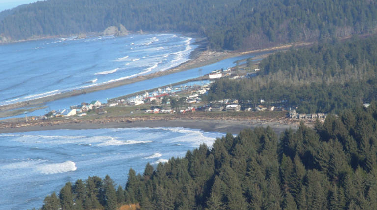 La Push, Washington is home to the Quileute Tribe.