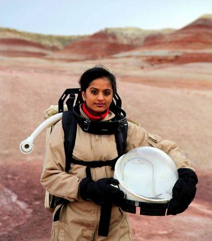 Despite bad food, cramped quarters and infrequent showers, Kavya Manyapu says she's still excited about becoming an astronaut.