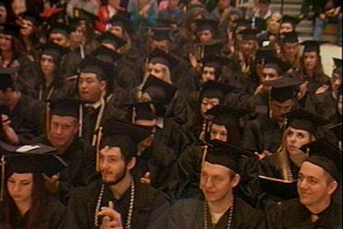Pacific Lutheran University's 2010 fall commencement