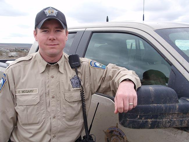 Chad McGary is the first Washington Fish and Wildlife officer assigned to a rural gang unit.