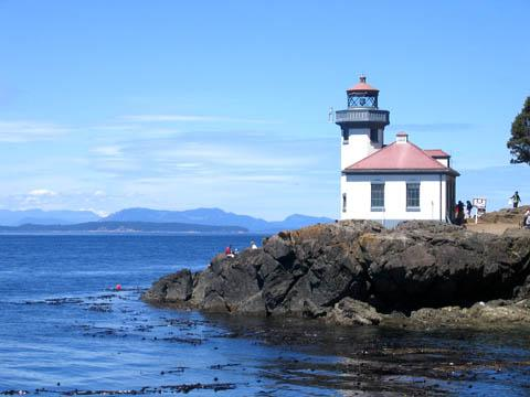 Lime Kiln State Park on San Juan Island is a prime spot for watching killer whales from the shore