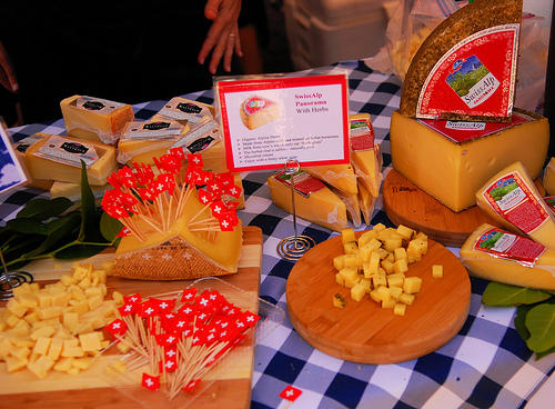 A smattering of the huge variety of cheeses you can sample at the  Seattle Cheese Festival this weekend (May 14 and 15).