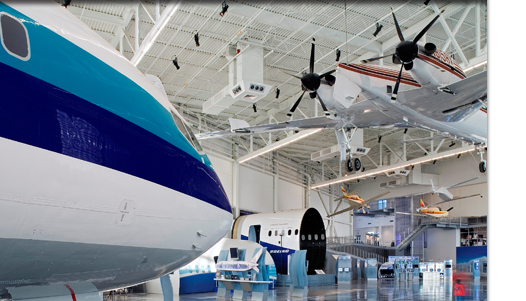 The Future of Flight aviation center gets ready to celebrate Earth Day.