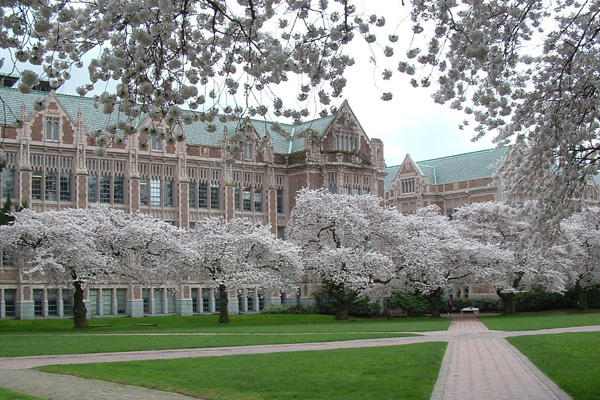 Springtime on the University of Washington campus. The Board of Regents announced this morning that University of Utah president Michael Young will take the top post at  the U.W.