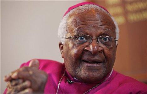 Nobel Peace Laureate Desmond Tutu