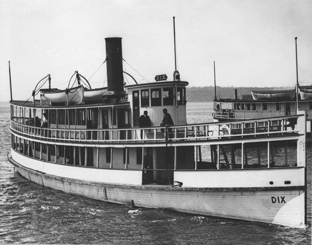 The SS Dix sunk in 1906 off Alki Point, leaving up to 45 people dead.