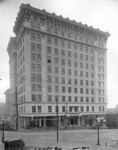 The Frye Hotel When New - 1911