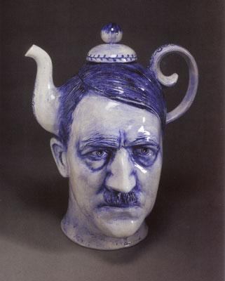 HItler Teapot by Charles Krafft