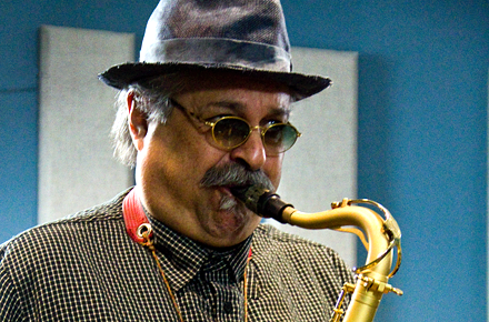 "We were pleased to welcome Joe Lovano and his group, ""Us Five,"" into our studios on April 29 for a live on-air performance in-front of a group of KPLU Leadership members."