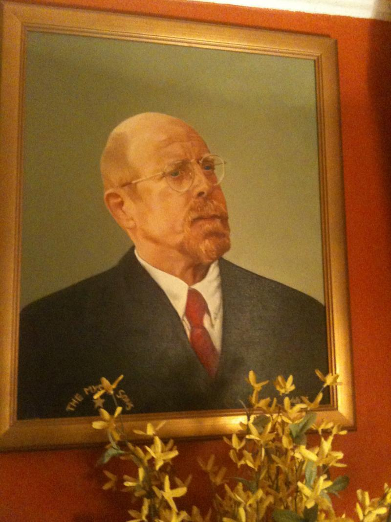 Portrait of Charles Krafft by Ann Farnsworth Duffy