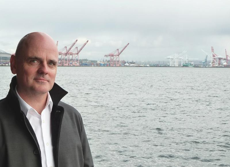 James Corner,  whose firm has been hired to redesign the Seattle waterfront after the Alaskan Way viaduct is demolished.
