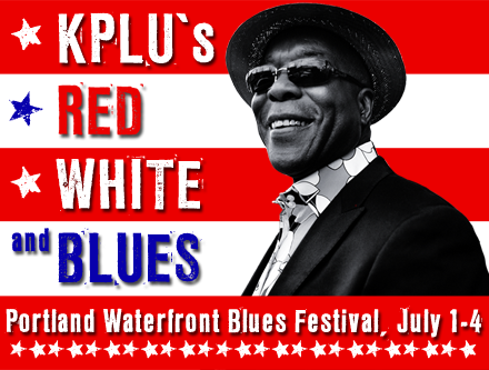 KPLU listeners will join more than 100,000 blues fans from around the world who descend upon the Rose City's Waterfront Park!