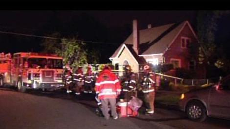 A mother and son died in a house fire at the 900 block of South Puget Sound Avenue  in Tacoma just before midnight Monday.