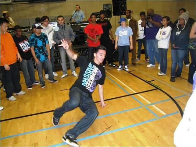Dancers face off in a competition at Southwest Community Center. Seattle officials say the centers aren't sustainable and some could close.