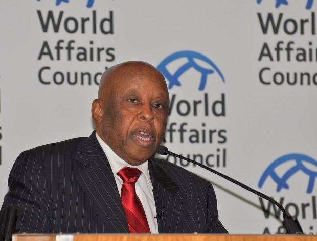Former President of Botswana Festus Mogae.