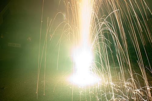 The Washington State Patrol is making its annual push to warn people about the dangers of home fireworks.