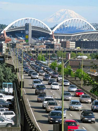With several major events in Seattle this weekend, traffic is going to be tough. The Seattle Department of Transportation advises you just don't drive downtown.