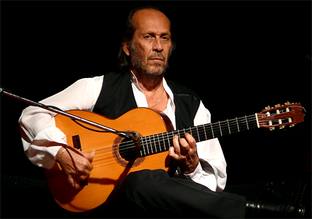 Spanish flamenco superstar Paco de Lucia takes the stage on Saturday at the Royal Theatre in Victoria.