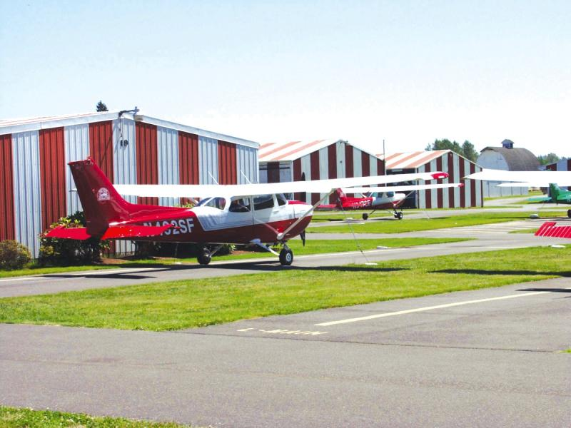 General aviation airports in Snohomish County, like Harvey Field, have seen a decline in the number of private aircraft flights due to a lingering recession and high fuel prices.