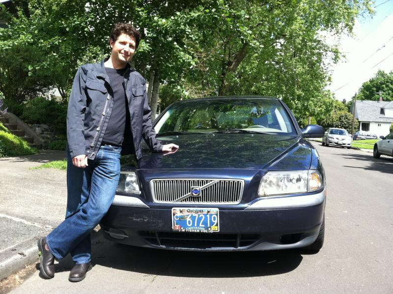 Portlander Eric Loebel hopes to rent out his Volvo S80 through a car sharing service.