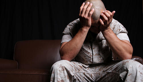 Post-traumatic stress diagnoses and prescriptions for common antidepressants are on the rise at Madigan Army Medical Center.