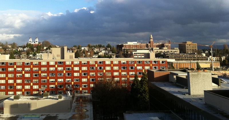 The campus of Seattle University