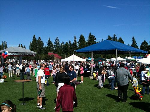 Bellevue's Strawberry Festival is one good idea for the weekend.