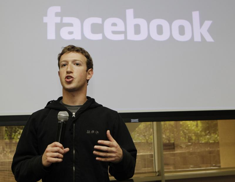 Facebook CEO Mark Zuckerberg, pictured here in 2010, will be in Seattle for developers meeting.