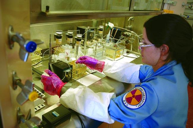 One of the objectives of the Idaho National Laboratory is to develop new technology and materials that can be used in future nuclear power facilities.
